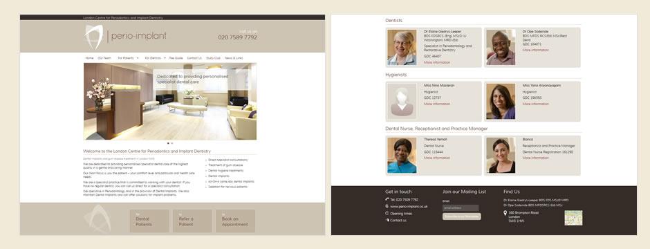 Website for a London Dentist by Dental Media