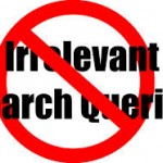 minimise irrelevant search queries